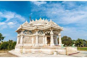Borij Derasar, a Jain Temple in Gandhinagar - Gujarat, India