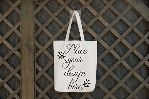 shopping bag mockup tote mock up