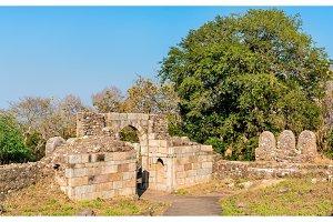 Atak Gate of Pavagadh Fort - Gujarat State in India