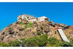 Kalika Mata Temple at the summit of Pavagadh Hill - Gujarat, India