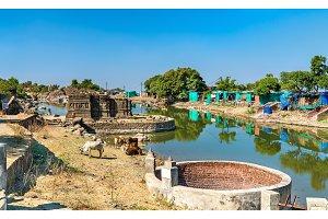 Lakulish Temple and Chhashiyu Lake at Pavagadh Hill - Gujarat, India