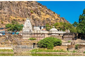 Suparshvanath Old Digamber Temple at Pavagadh Hill - Gujarat, India