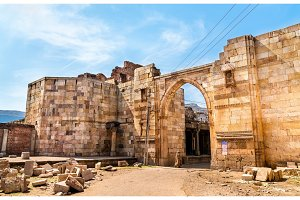 Godhra Eastern Gate of Champaner Fort - UNESCO heritage site in Gujarat, India