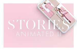 Animated Instagram Stories Pack II