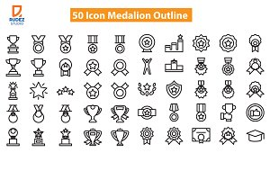 Medalion Outline