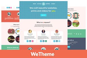 Compass - Agency & Freelancer Theme
