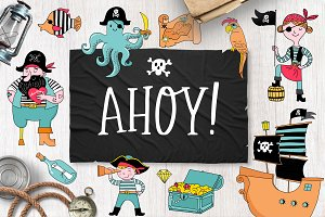 Ahoy! Pirate collection