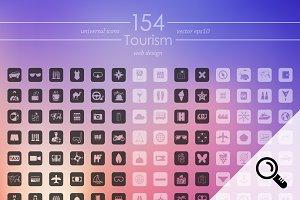 154 TOURISM icons