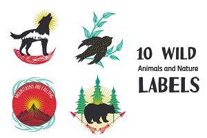 10 Wild Labels