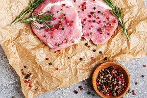 Raw pork