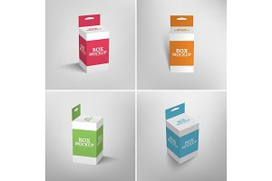Hang Slot Packaging Box Mockup