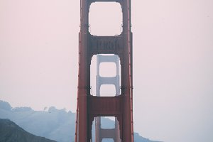 Golden Gate Bridge - Front on