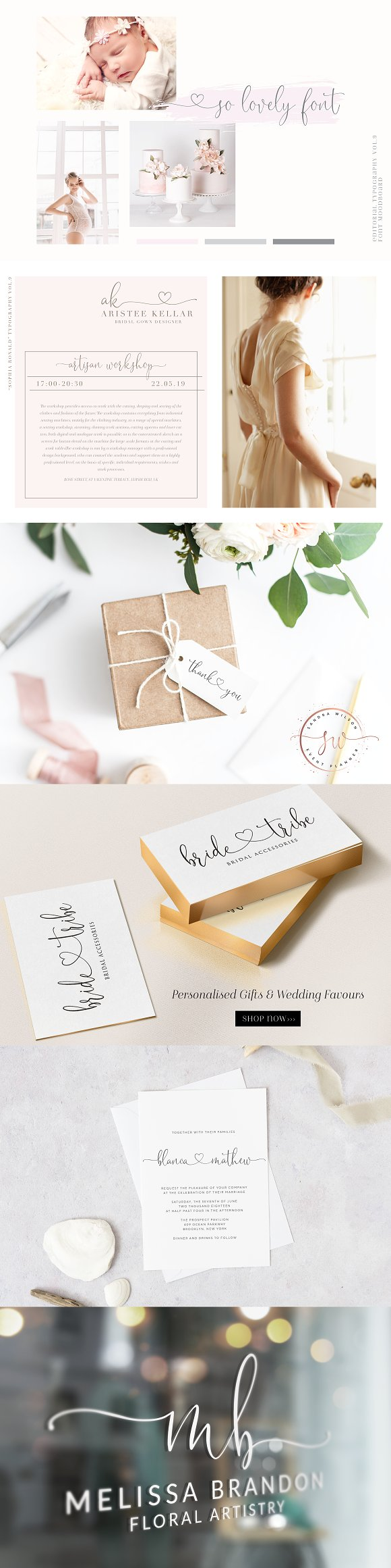 Sophia Ronald // Lovely Script Font in Script Fonts - product preview 1