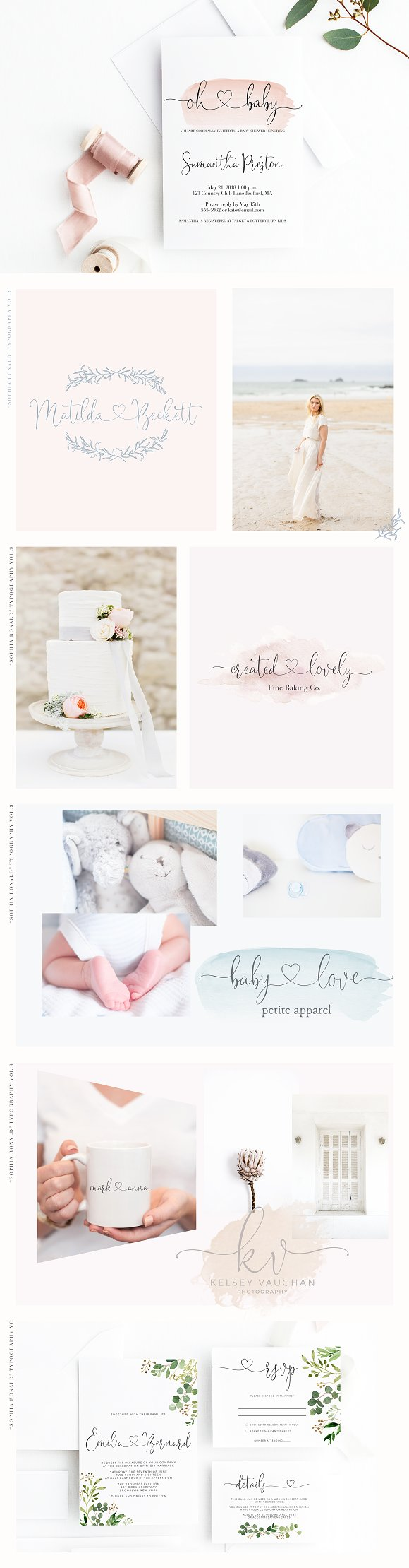 Sophia Ronald // Lovely Script Font in Script Fonts - product preview 2