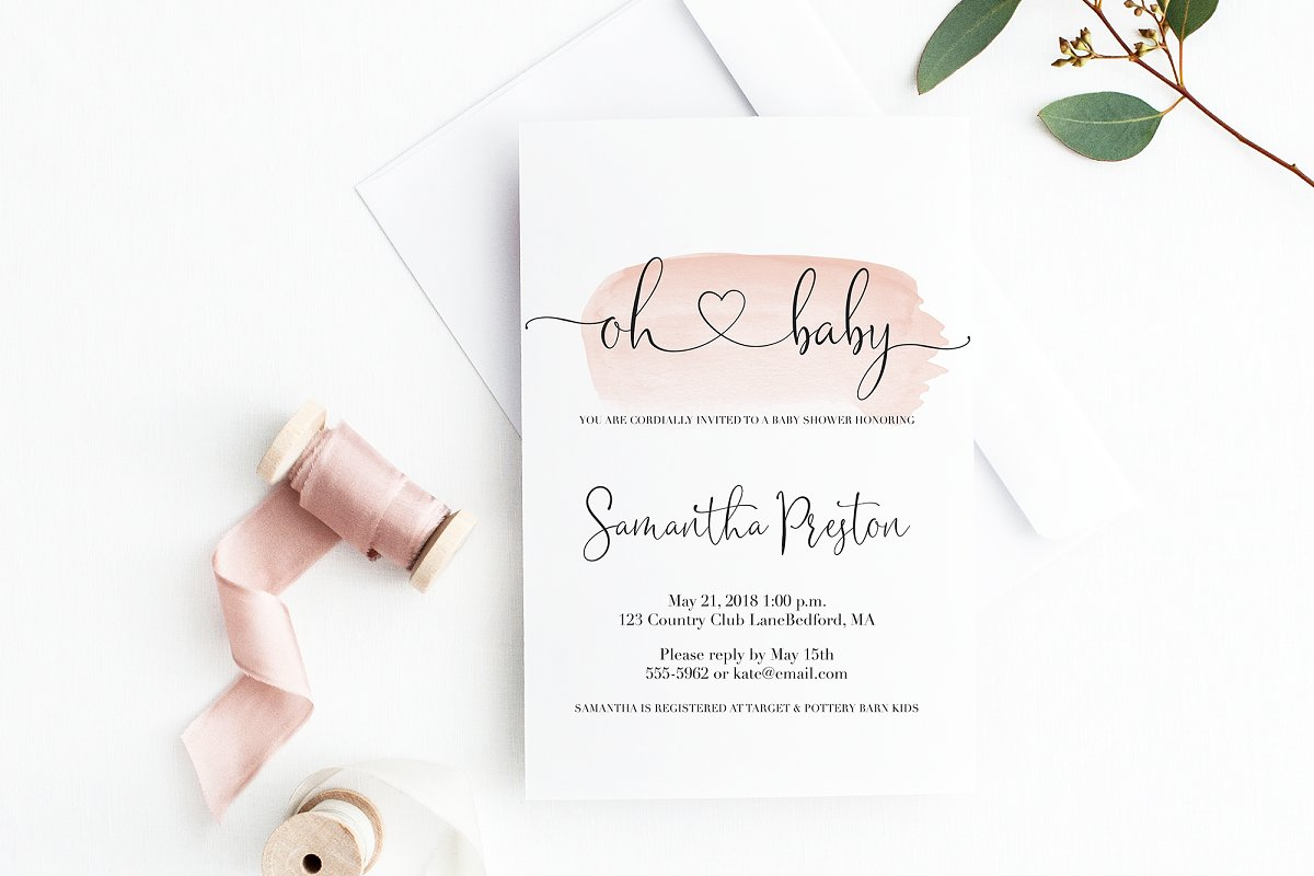 Sophia Ronald // Lovely Script Font  in Script Fonts - product preview 17