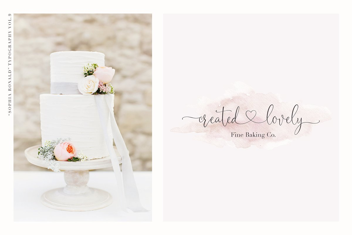 Sophia Ronald // Lovely Script Font  in Script Fonts - product preview 7