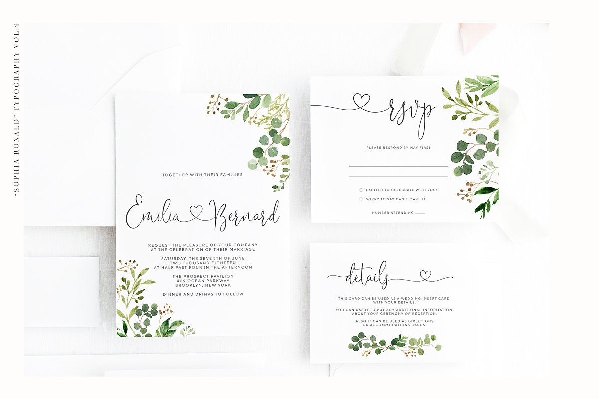 Sophia Ronald // Lovely Script Font  in Script Fonts - product preview 3