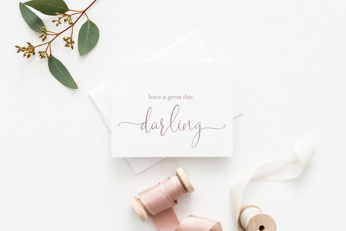 Sophia Ronald // Lovely Script Font  in Script Fonts - product preview 1