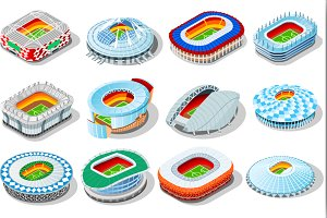 Russia world cup 2018 stadium set