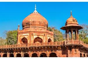 Tomb of Fatehpuri Begum near Taj Mahal in Agra, India