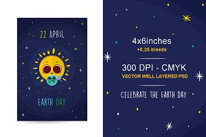 22 April - Earth Day - Flyer