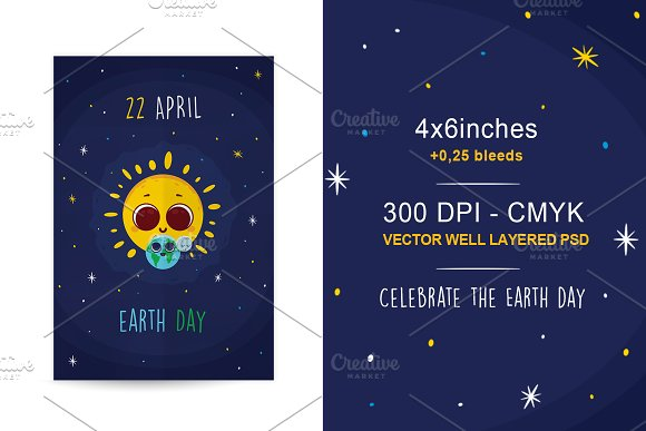 22 April Earth Day Flyer