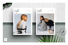 FIFTH Magazine Template by Studio Standard in Magazines