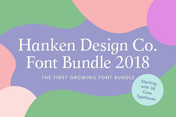 HDC Font Bundle 2018