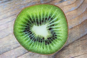 Half kiwi