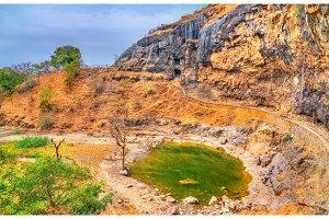 Sita Ki Nahani lake at Ellora Caves. India