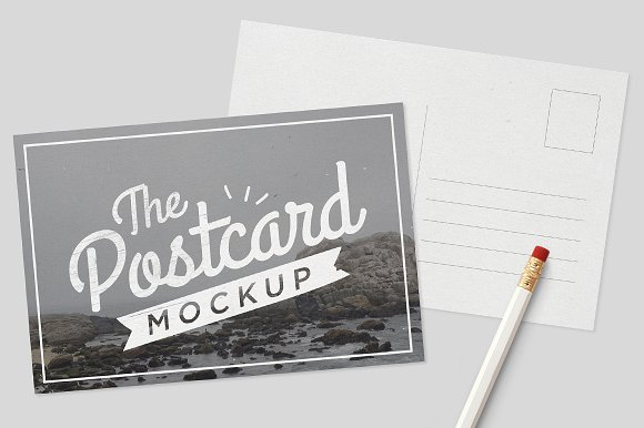 Download MockUp - Postcards