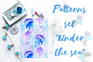"Patterns set ""Under the sea"""