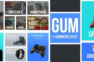 Gum E-commerce UI-Kit