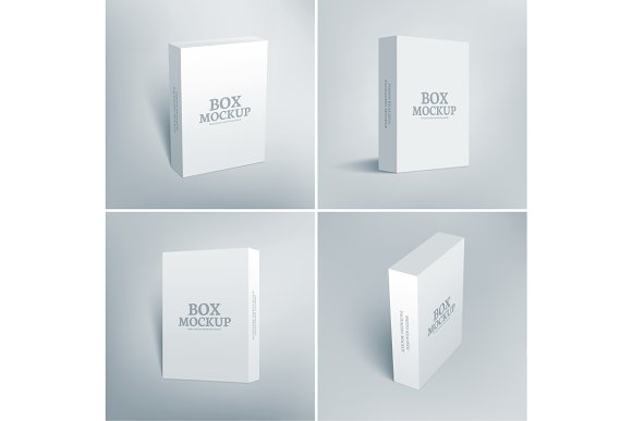 Download Software Packaging Box Mockup - All Psd Template