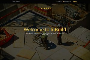 InBuild - One Page HTML Template