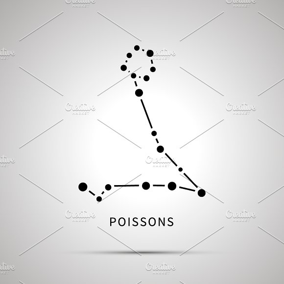 Poisson's Constellation Simple Icon