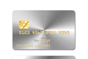 Platinum realistic credit card