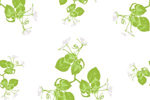 Decorative Floral Seamless Pattern