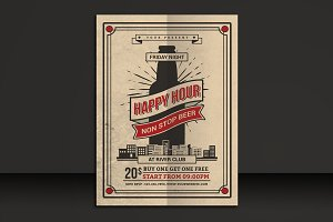 Happy Hour Beer Flyer