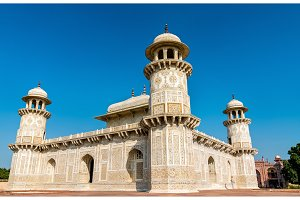 Tomb of Itimad-ud-Daulah in Agra, India