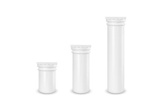 Plastic White Tube