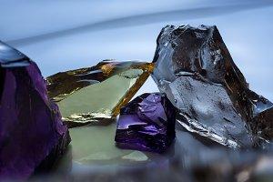 glass decorative pieces batters
