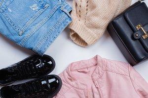 Woman Trendy Fashion Clothes