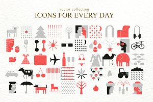Vector Icons For Every Day