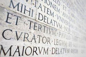 ancient roman epigraph