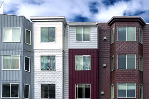 residential houses in San Francisco