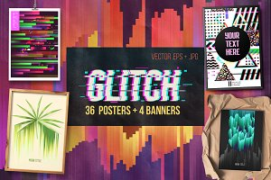 Glitch Posters Pack