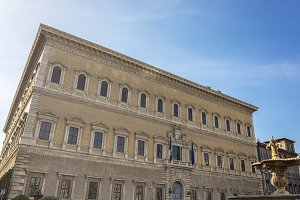 Farnese Palace in Rome
