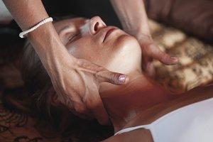 Massage concept.