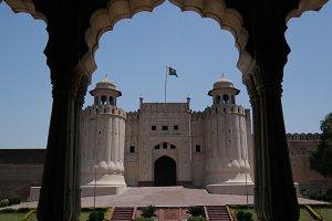 Alamgiri Gate of Lahore fort, Punjab, Pakistan